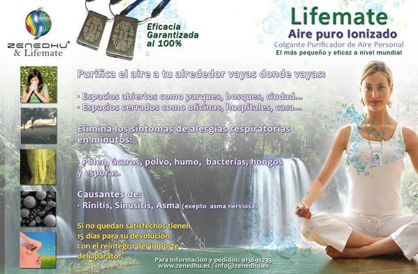 Lifemate - Aire puro ionizado
